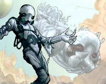 Ghost in Marvel Comics is seriously creepy looking.