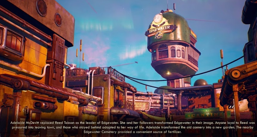 outer worlds now comes the power
