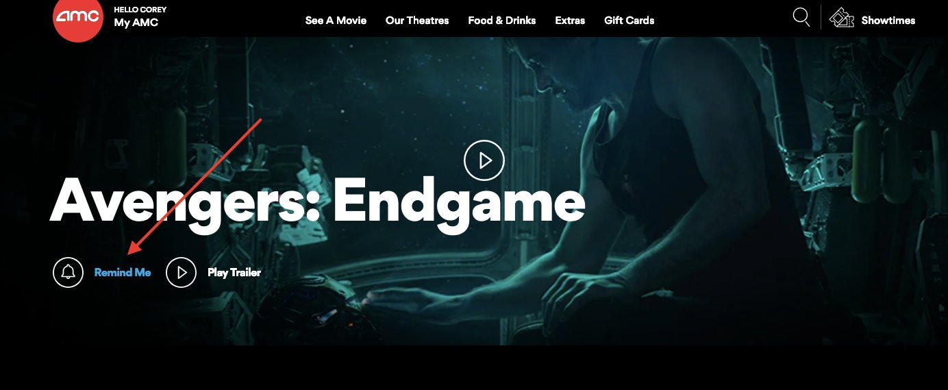 AMC Theaters Endgame