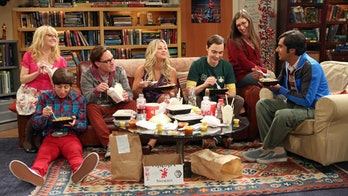 The cast of 'The Big Bang Theory'.