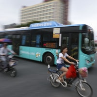 China's Shenzhen City Is the First with a Totally Electric Bus Fleet