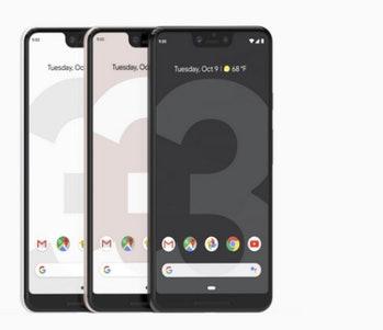 People don't like the notch on the Pixel 3 XL.