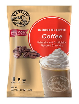 Big Train Blended Ice Coffee, Coffee Flavor,