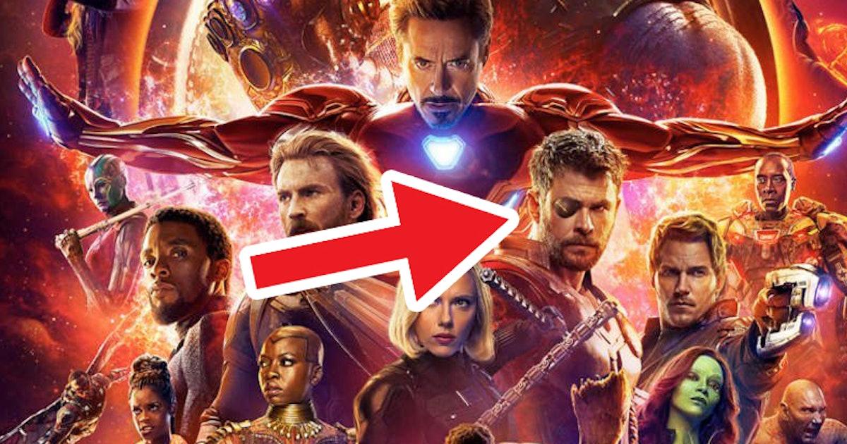 'Avengers: Infinity War' Poster Has an Eye-Opening Mistake on It