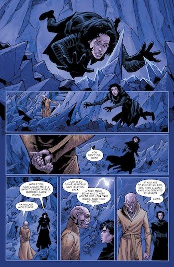 Star Wars Rise of Skywalker Snoke Comic