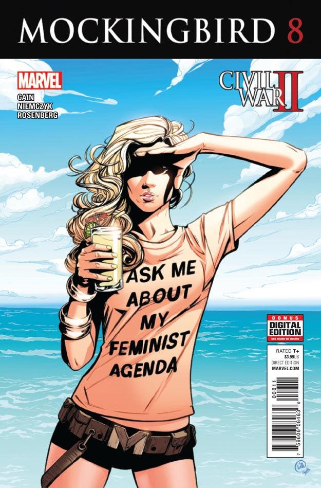 Cover for Marvel's Mockingbird #8