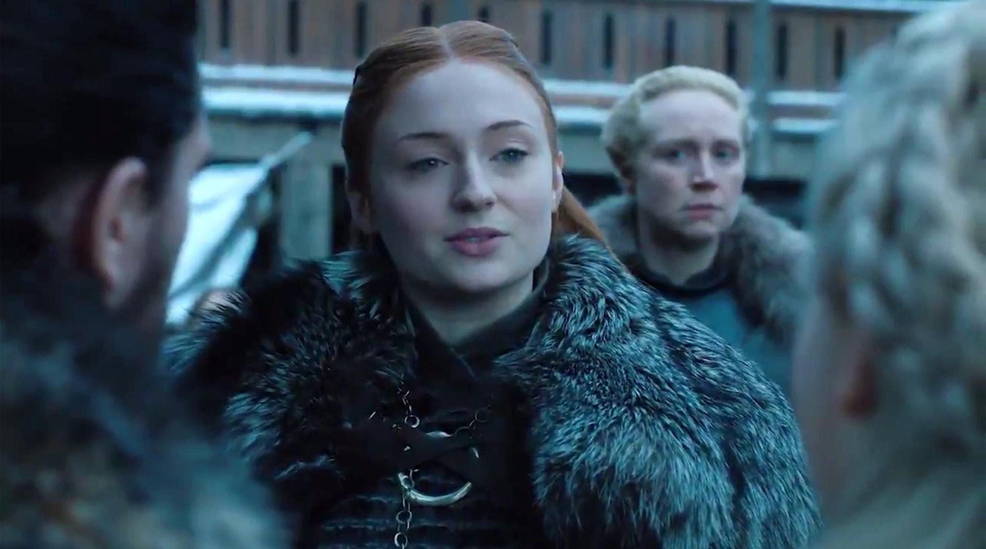Game of Thrones Sansa Season 8 daenerys