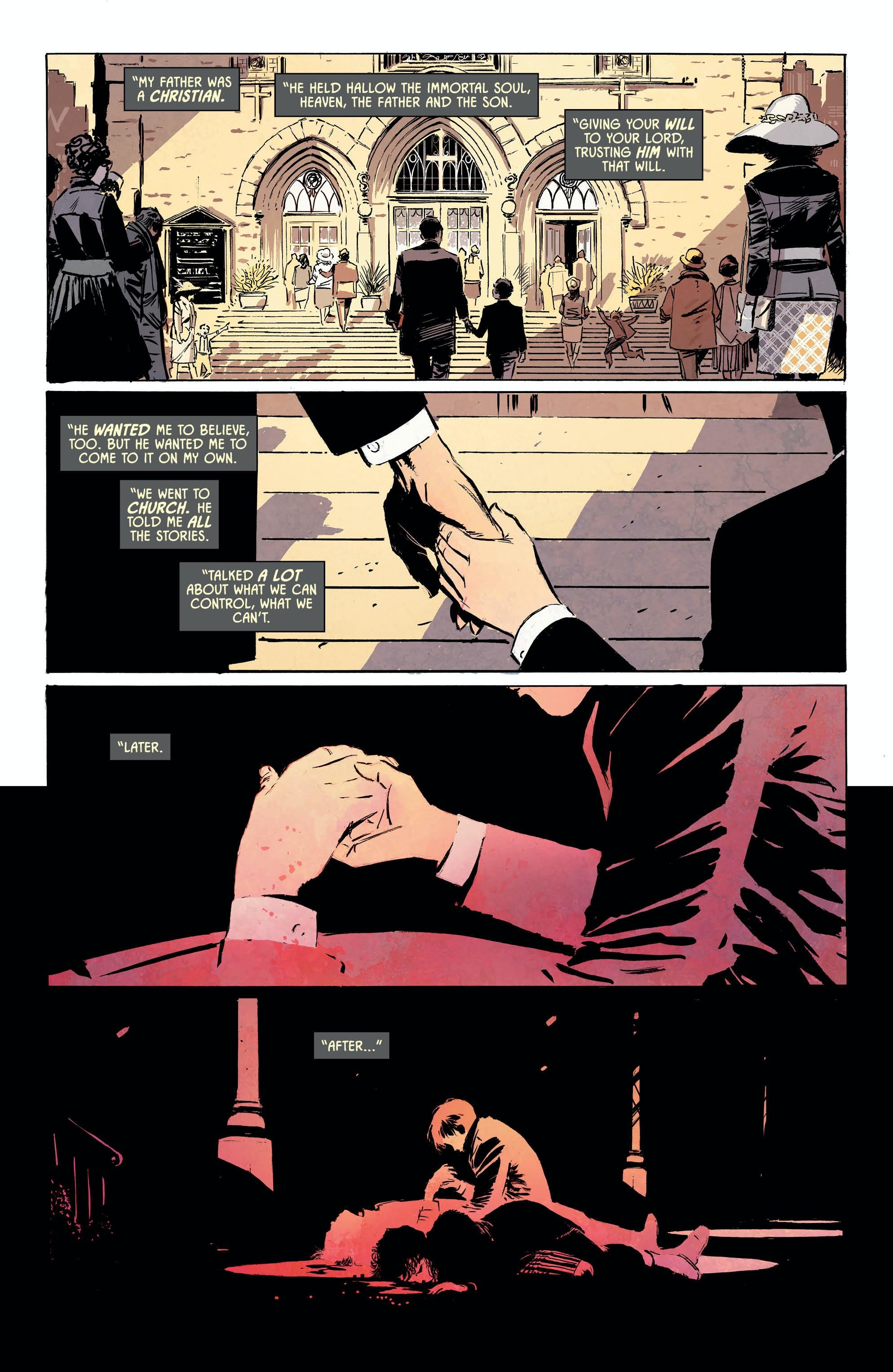 Batman 53 Lee Weeks Tom King Christianity