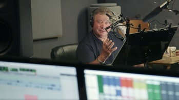 Shatner recording the voice of Phil in 'Aliens Ate My Homework'