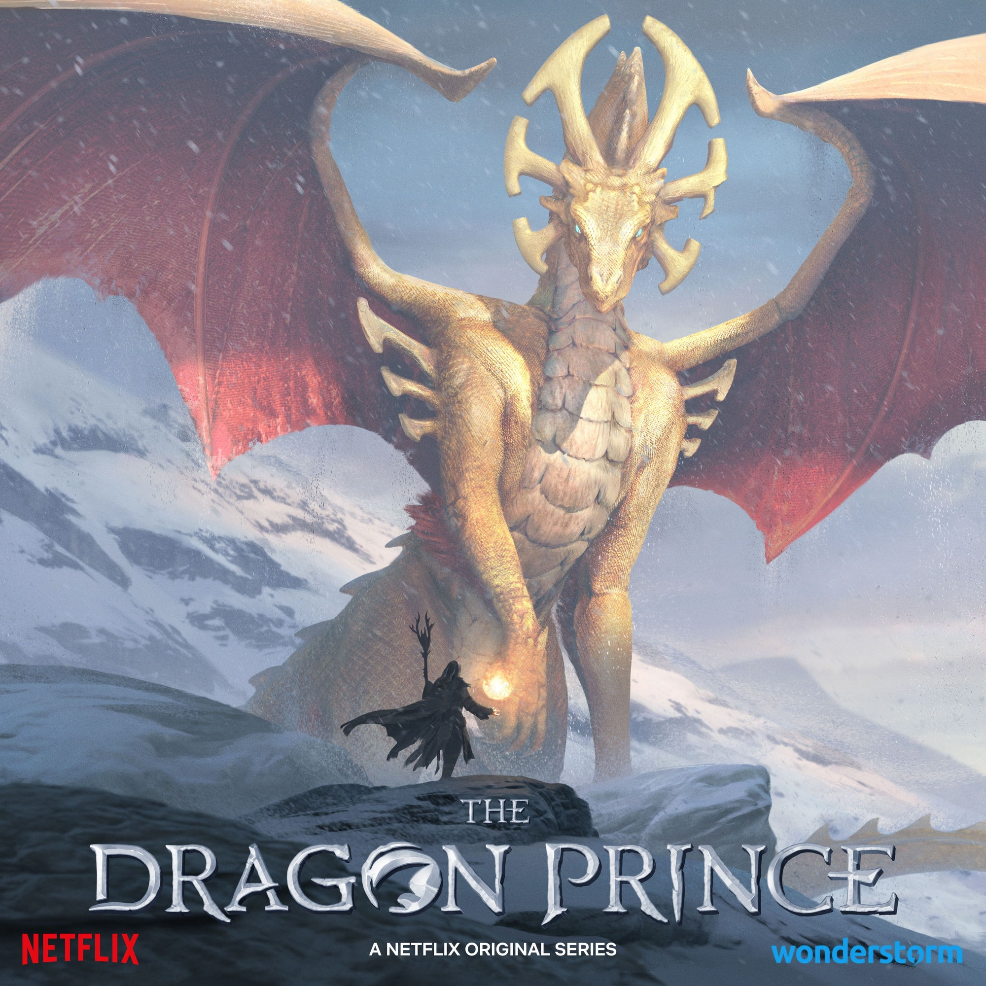 An artists rendering of the 'Dragon Prince' Season 3 scene shown at Comic-Con.
