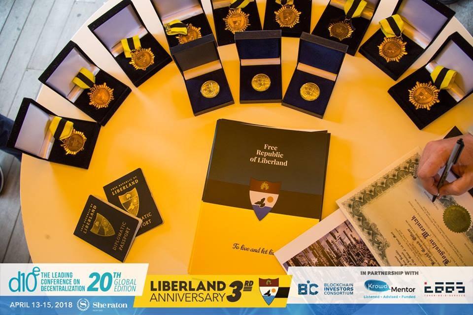 Liberland crypto libertarian
