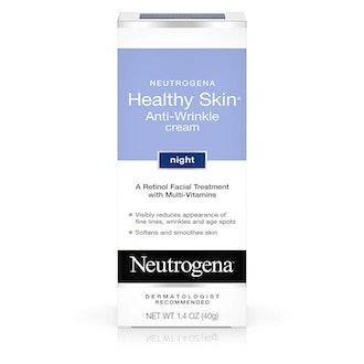 Neutrogena Healthy Skin Anti Wrinkle Retinol Cream with Vitamin E and Vitamin B5