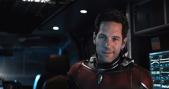 Paul Rudd as Scott Lang, aka Ant-Man, in 'Ant-Man and the Wasp'.