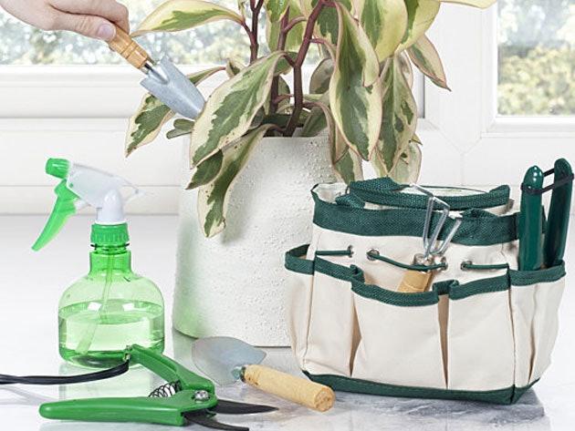 Pure Garden 7-Piece Indoor Garden Tool Set