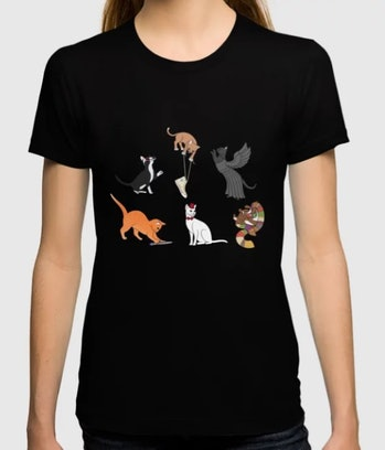 Doctor Who Cats T-shirt