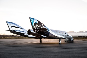 SpaceShipTwo Unity