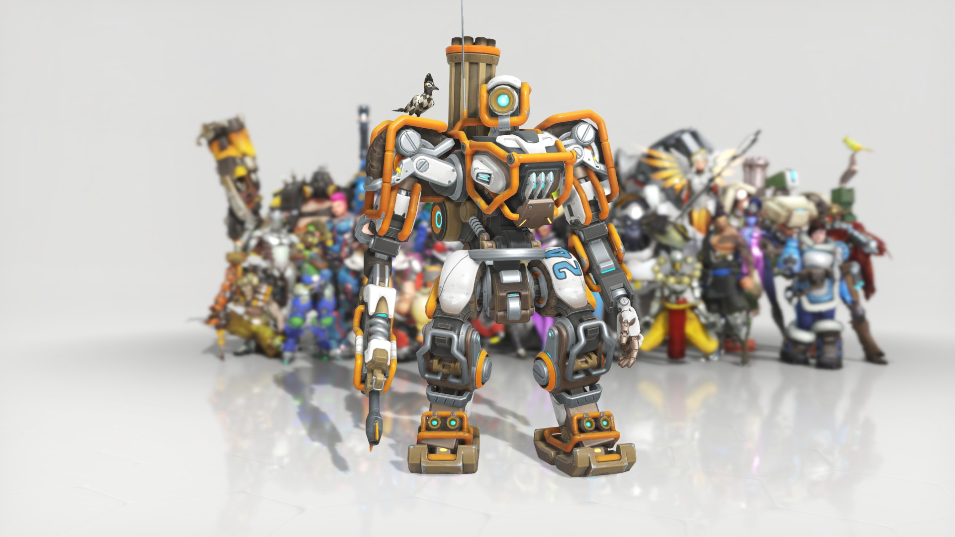 Overwatch Anniversary Event Bastion Skin