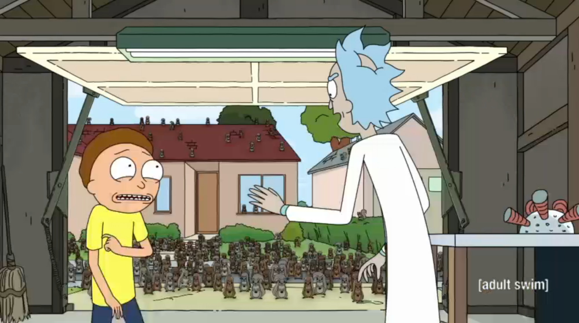 Remember when Morty ruined an entire universe by messing with the squirrels?