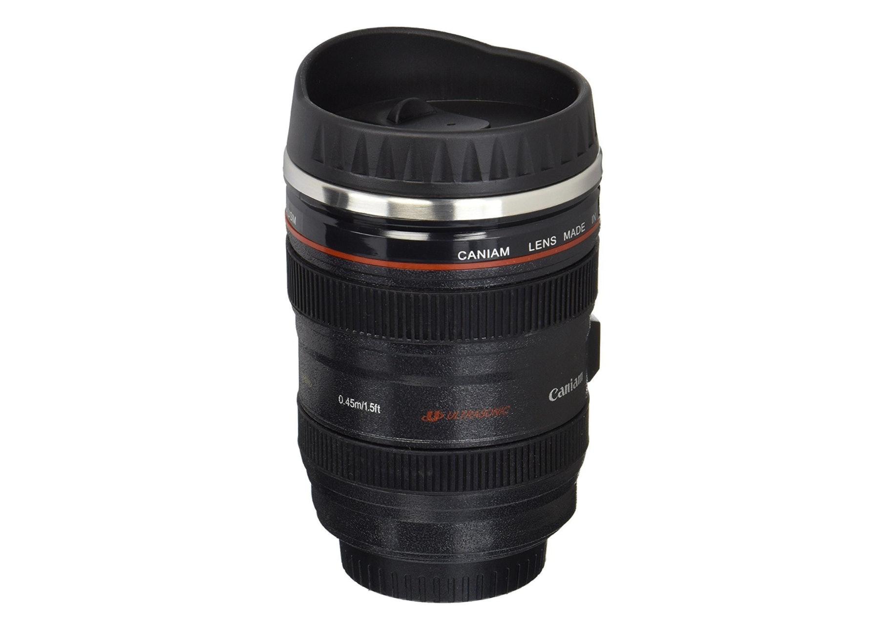 camera lens thermos