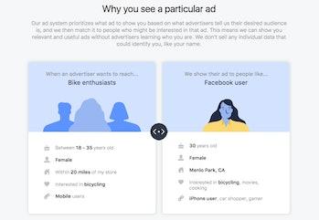 facebook target ads