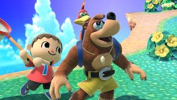Smash Bros Ultimate Banjo Kazooie