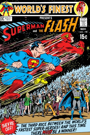 Justice League The Flash Superman Race