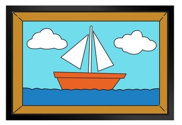 simpsons sailboat