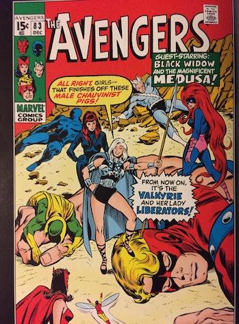 lady liberators cover mcu women avengers
