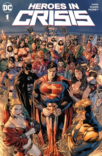 Heroes in Crisis DC Comics