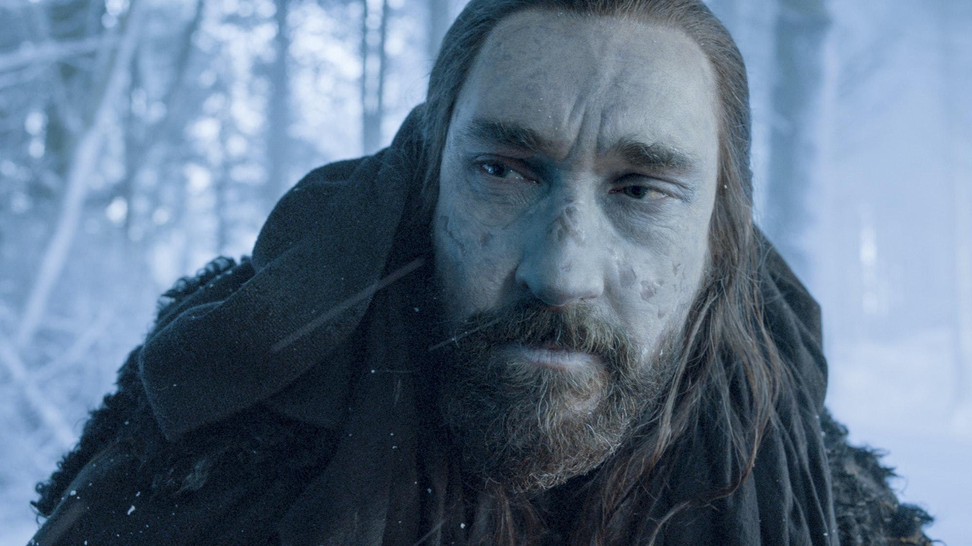 How would Valyrian steel impact an undead Benjen Stark?