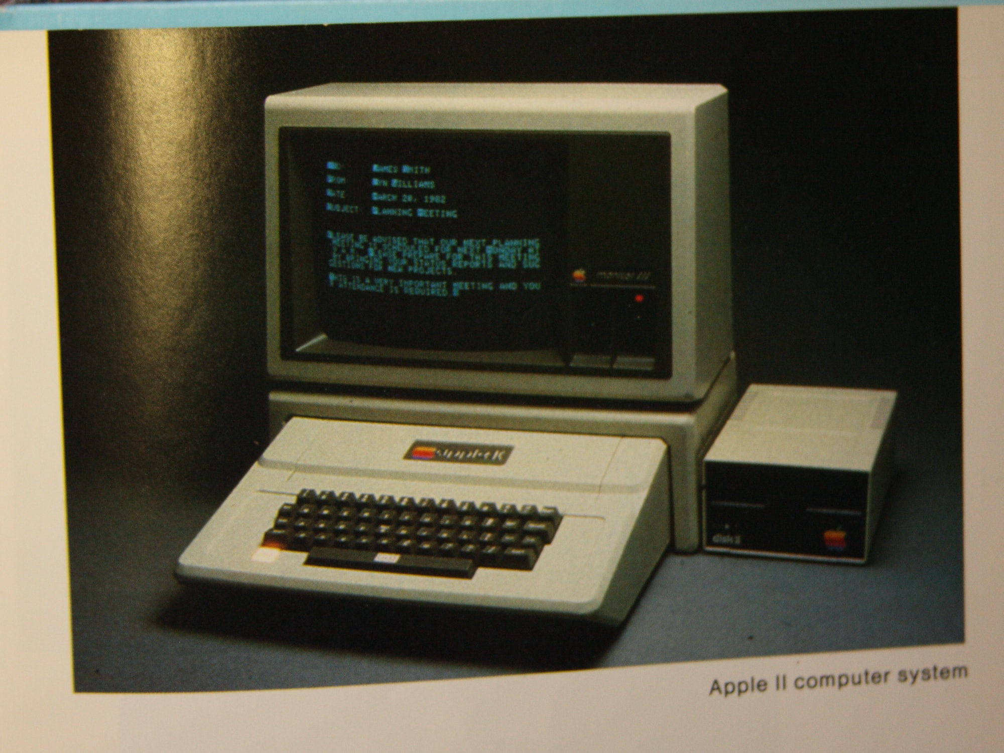 Apple II Computer System