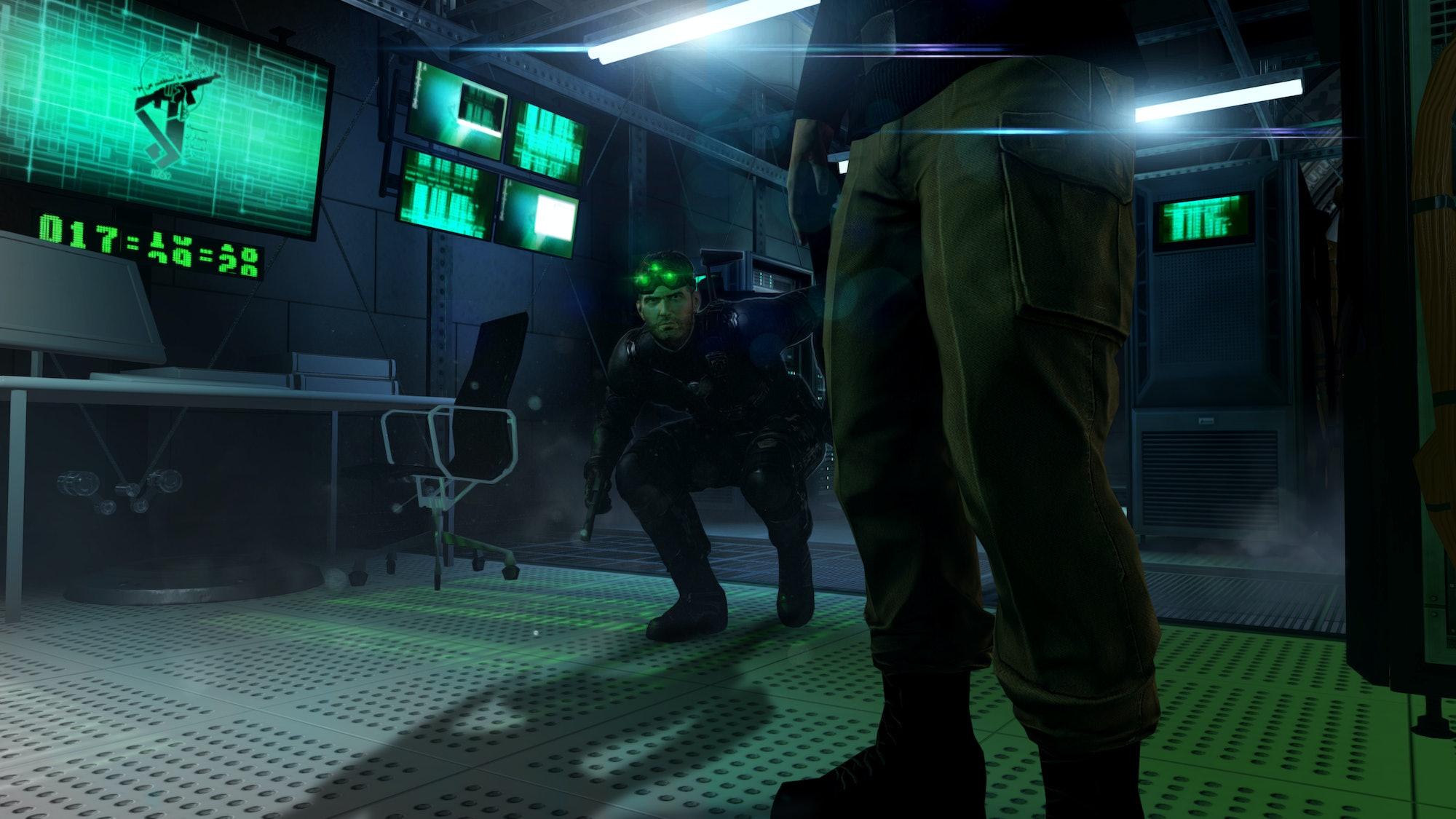 Splinter Cell: Blacklist.