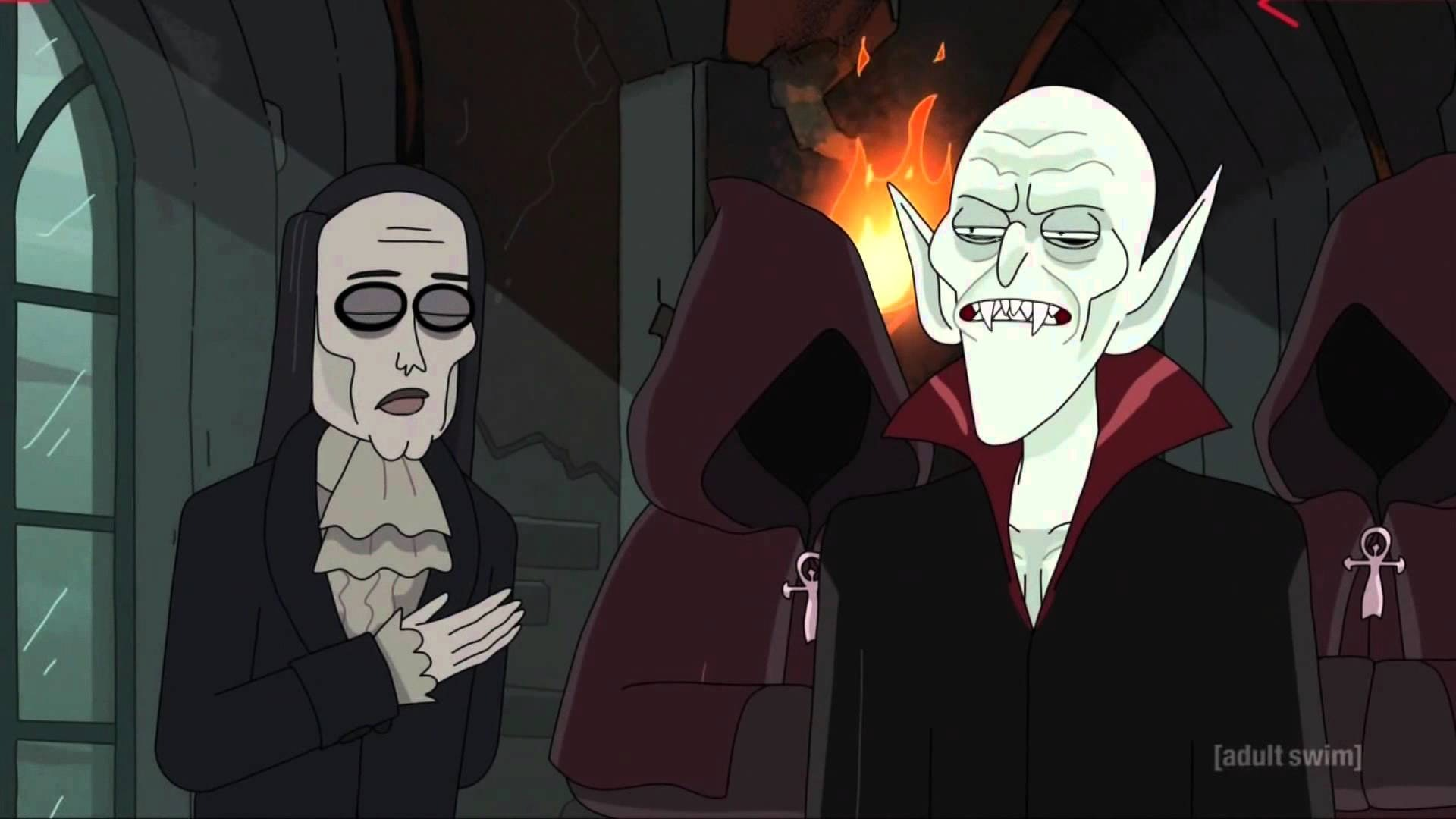 The original Nosferatu is king of the vampires in 'Rick and Morty.'