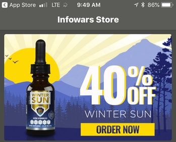 InfoWars supplements