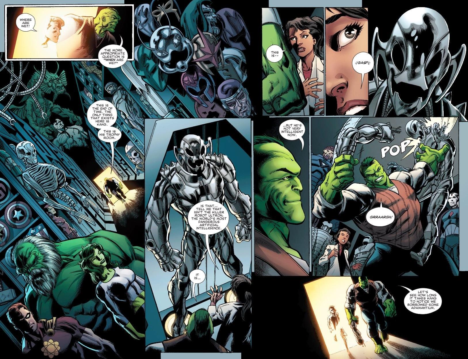 avengers endgame professor hulk