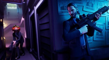 fortnite john wick loading screen