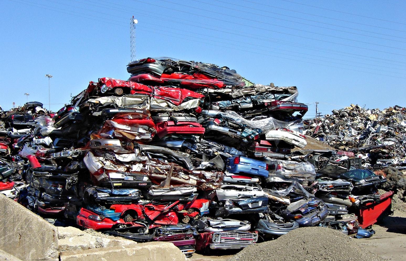 cars junkyard