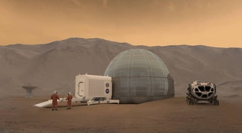 NASA Mars Ice Home