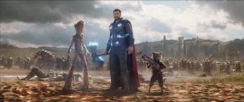 'Infinity War' Thor Wakanda