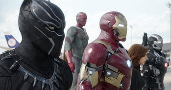 Yes, Black Panther has a better suit than Iron Man.