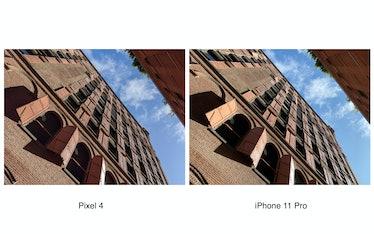 Pixel 4 camera comparison