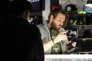 Scuf's booth at CWL Dallas lets competitors and fans alike purchase controllers or other gear.