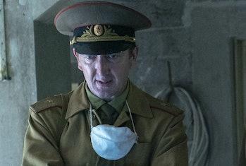 Ralph Ineson as GeneralNikolai Tarakanov in 'Chernobyl'.