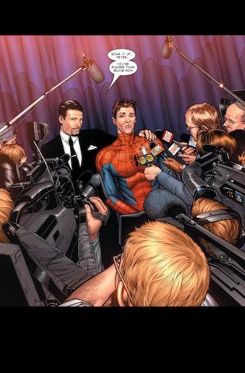 Spider-Man Far From Home Unmasking Civil War