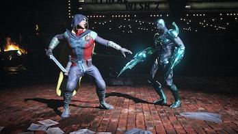 Injustice 2 Robin Blue Beetle