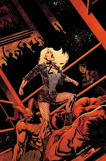 birds of prey dinah black canary