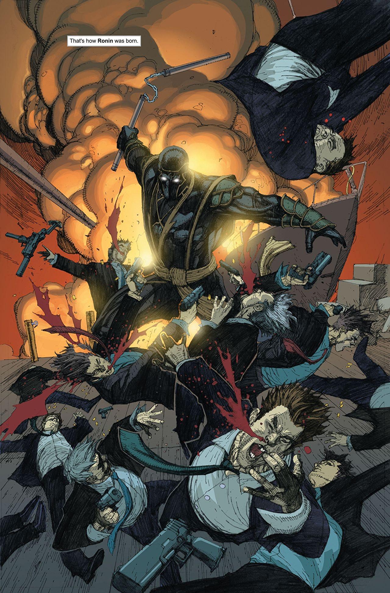 Marvel Ronin Avengers Endgame Hawkeye Comics