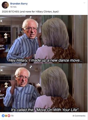 berine sanders facebook memes 2020