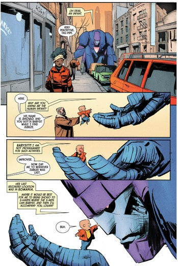 Old Man Logan Panel for Marvel Comics