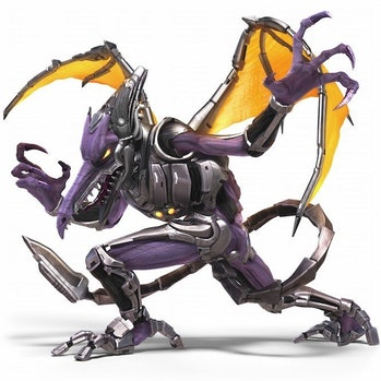Ridley looks even scarier than usual in this 'Smash Bros. Ultimate' leak.